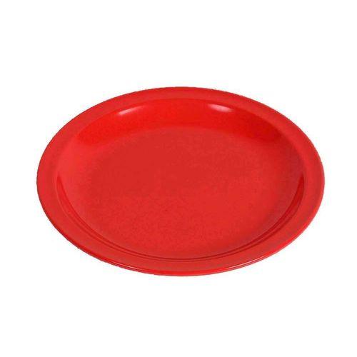 WACA Kuchenteller »Waca Melamin Kuchenteller, Durchmesser 19,5cm«, rot