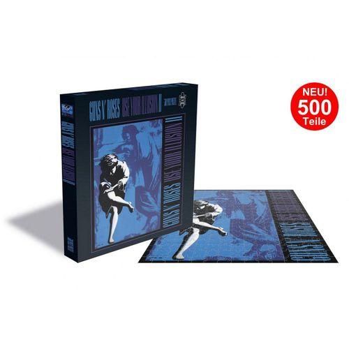 empireposter Puzzle »Guns n' Roses Use Your Illusion 2 - 500 Teile LP Cover Puzzle im Format 39x39 cm«, 500 Puzzleteile