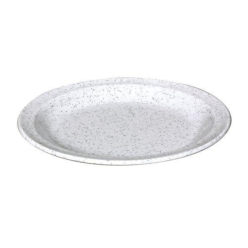 WACA Kuchenteller »Waca Melamin Kuchenteller, Durchmesser 19,5cm«, grau