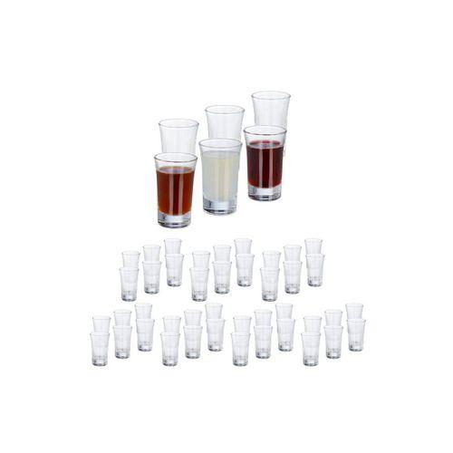 relaxdays Schnapsglas »48 x Schnapsgläser 4cl