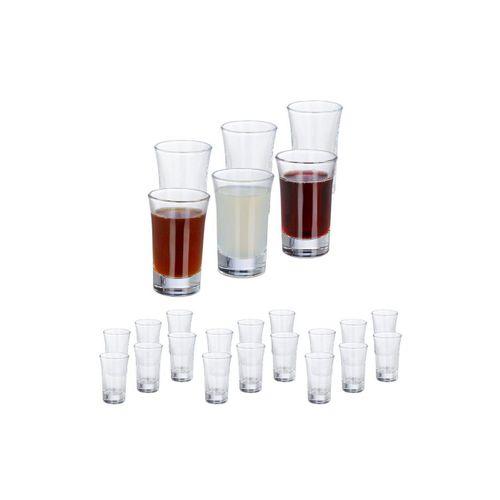 relaxdays Schnapsglas »24 x Schnapsgläser 4cl
