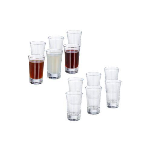 relaxdays Schnapsglas »12 x Schnapsgläser 4cl