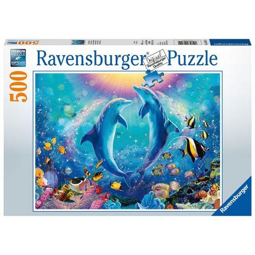 Ravensburger Puzzle »14811 Tanzende Delphine 500 Teile Puzzle«, 500 Puzzleteile