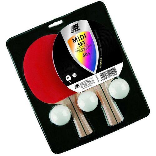 Sunflex Tischtennisschläger »Tischtennis Set Midi«