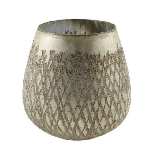 Parts4Living Teelichthalter »Glas Teelichthalter Kerzenhalter 13x13 cm«