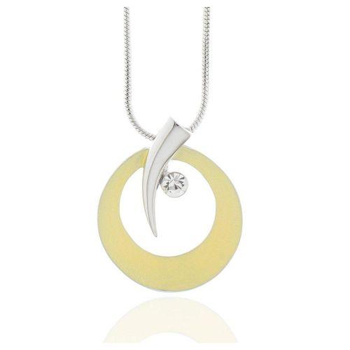 J & S JULIASS WELT Collier »Collier imitiertes Rhodium Kristallstein