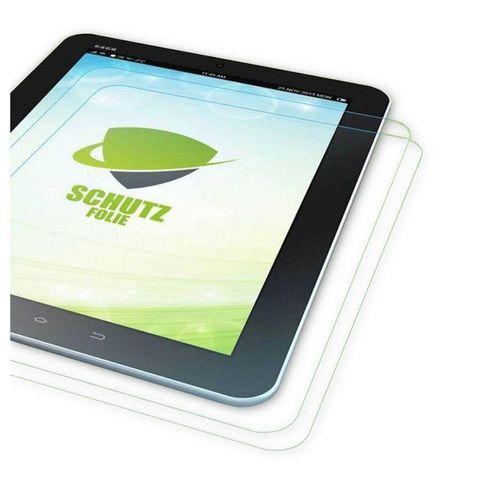 Wigento Tablet-Hülle »2x Displayschutzfolie für Lenovo Tab 4 10 Plus + Poliertuch«