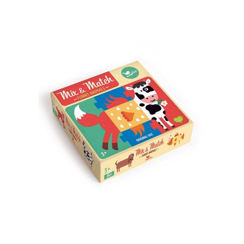 Magellan Puzzle »Mix & Match - Funny Animals«, Puzzleteile, Made in Europe