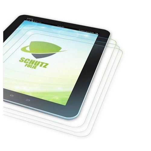 Wigento Tablet-Hülle »3x Displayschutzfolie für Apple iPad Mini 4 + Poliertuch«
