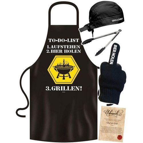 Soreso® Grillschürze »Grillset To Do Grillen Grillschürze für Männer