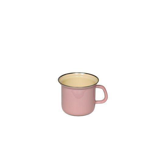 Riess Milchtopf »Topf mit Chromrand 12 Rosa