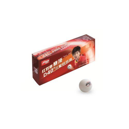 DHS Tischtennisball »DHS Ball DUAL ABS*** 10er«