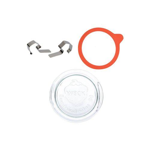 MamboCat Vorratsglas »Weck-Einkoch-Set