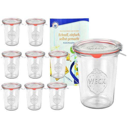 MamboCat Vorratsglas »9er Set Weck Gläser 850ml