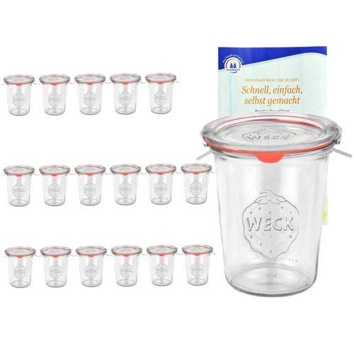 MamboCat Vorratsglas »18er Set Weck Gläser 850ml