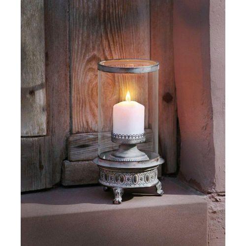 HomeLiving Kerzenhalter »Shabby-Grey
