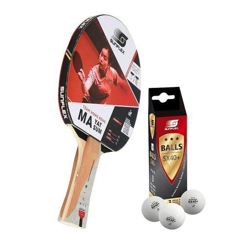 Sunflex Tischtennisschläger »MA YAT SUM + 3x SX+ Bälle«