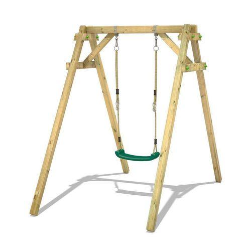 Wickey Einzelschaukel »Schaukelgestell Smart One - Schaukel, Schaukelgerüst, Kinderschaukel, Holzschaukel«, grün