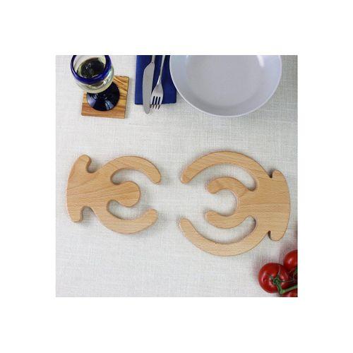 mitienda Topfuntersetzer Topfuntersetzer aus Holz
