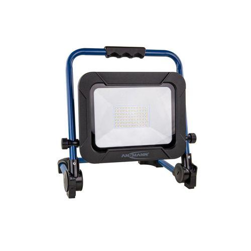ANSMANN® LED Baustrahler »Akku LED 50W Strahler mit integriertem Akku - IP54 Baustrahler Werkstatt«