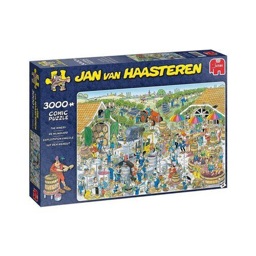 Jumbo Spiele Puzzle »Jumbo 19198 Auf dem Weingut 3000 Teile Puzzle«, 3000 Puzzleteile
