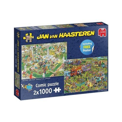 Jumbo Spiele Puzzle »19099 Jan van Haasteren 2x 1000 Teile Comic Puzzle«, 1000 Puzzleteile