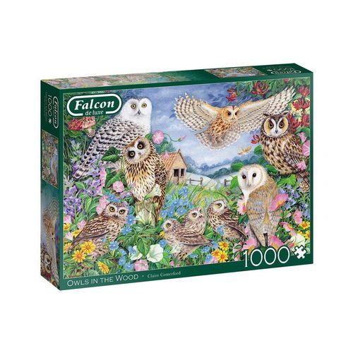 Falcon Puzzle »Puzzles 501 bis 1000 Teile JUMBO-11286«, Puzzleteile, bunt