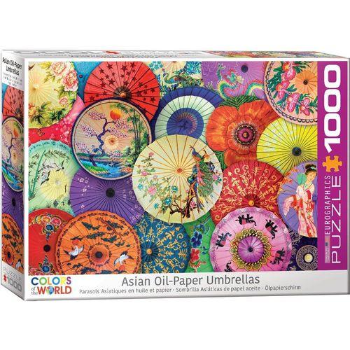 empireposter Puzzle »Asiatische Papierschirme