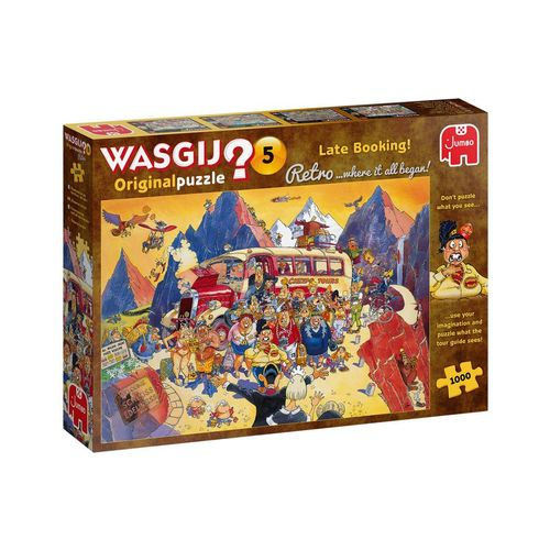 Jumbo Spiele Puzzle »25007 Wasgij Retro Orignal 5 Billigangebot gebucht