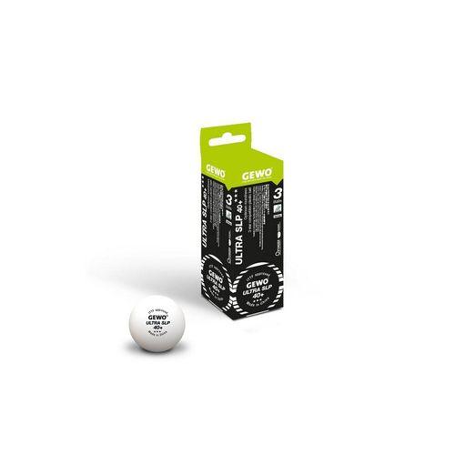Gewo Tischtennisball »GEWO Ball Ultra SLP 40+ *** 3er«