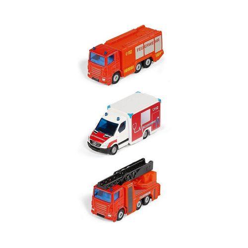 Siku Spielzeug-Auto »Notruf Set
