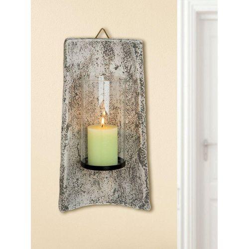 GILDE Kerzenhalter »Keramik Wandziegel Roman Leuchter