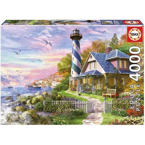 Educa Puzzle »LEUCHTTURM AM ROCK BAY«, 4000 Puzzleteile