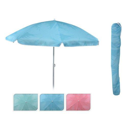 Meinposten Sonnenschirm »Strandschirm Balkonschirm Schirm UV Schutz 30+ knickbar Ø 155 cm«, abknickbar, mit Tragetasche, grün