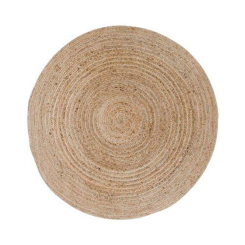Teppich »Broom Teppich Ø150 cm in Jute natur.«, ebuy24, Höhe 1 mm