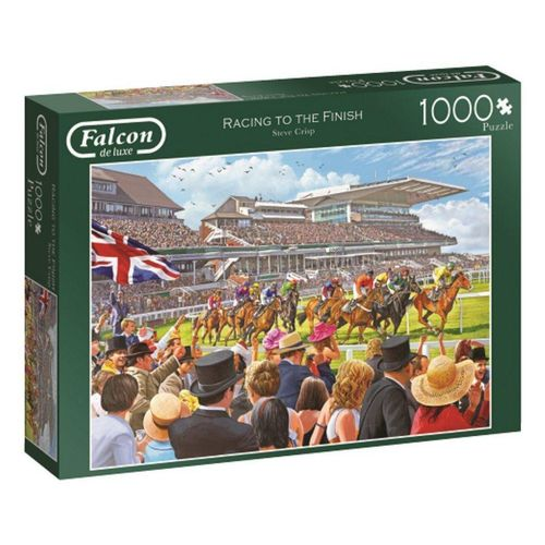 Falcon Puzzle »11202 Racing to the Finish 1000 Teile Puzzle«, 1000 Puzzleteile, bunt