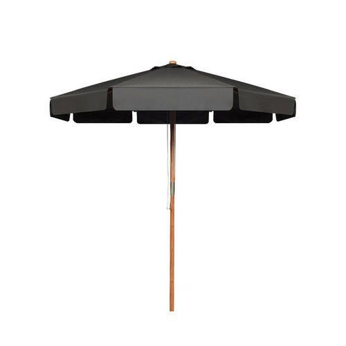 COSTWAY Sonnenschirm »Gartenschirm, Terrassenschirm«, Ø300cm, Kippbar, für den Garten, Strand oder am Pool, grau