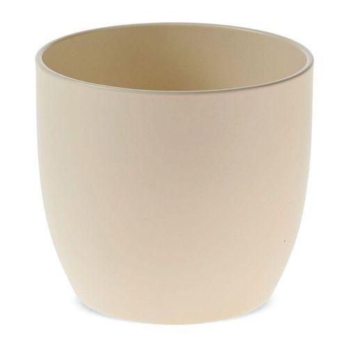 matches21 HOME & HOBBY Blumentopf »Blumentopf matte Oberfläche Keramik perlmutt Ø 16 cm« (1 Stück), weiß