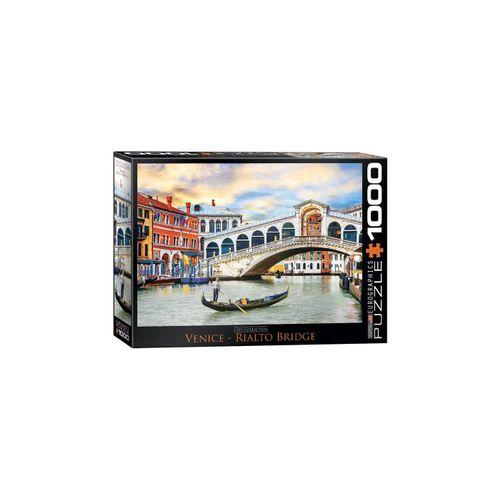 empireposter Puzzle »Venedig Rialto Brücke - 1000 Teile Puzzle im Format 68x48 cm«, 1000 Puzzleteile