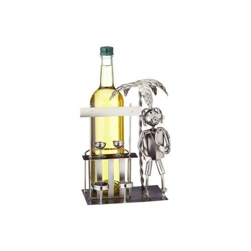 HTI-Living Weinflaschenhalter »Weinflaschenhalter Urlaub«, (1-St)