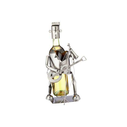 HTI-Living Weinflaschenhalter »Weinflaschenhalter Gitarrespieler«, (1-St)
