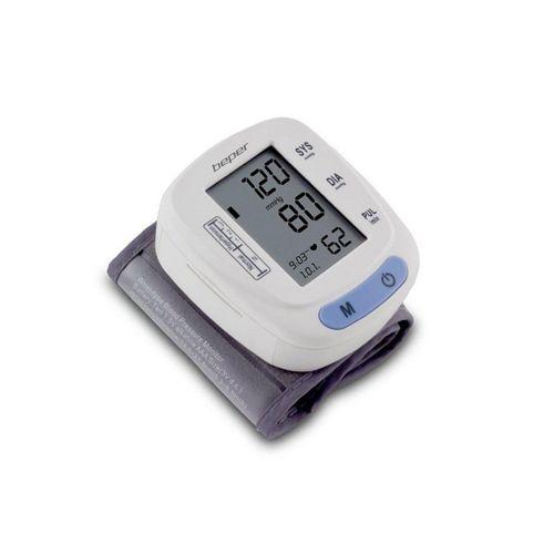 Beper Blutdruckmessgerät 40.121 Handgelenk Blutdruckmessgerät Blutdruckmesser mit 120 Speicherplätzen