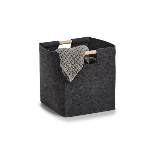 HTI-Living Aufbewahrungsbox »Aufbewahrungskorb Aufbewahrungsbox«, Aufbewahrungsbox, grau