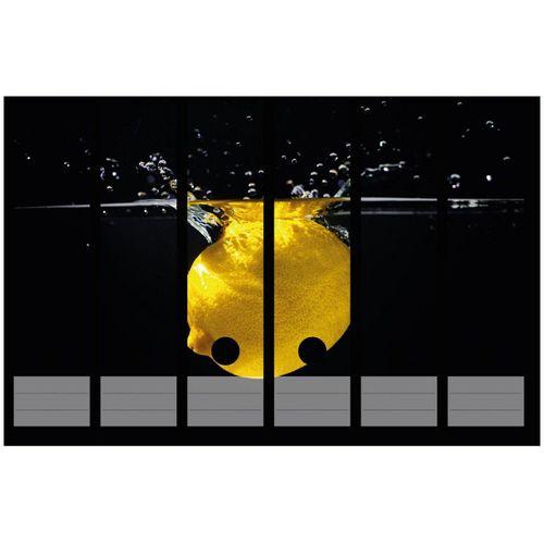 Wallario Aktenordner »Zitrone im Wasser