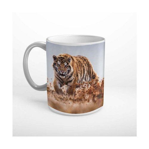 DesFoli Tasse »Sibirischer Tiger Wildnis Tier T2088