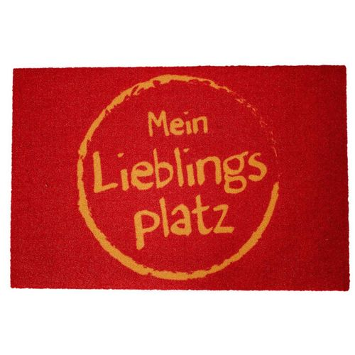 Fußmatte »Mein Lieblingsplatz 60 x 40 cm