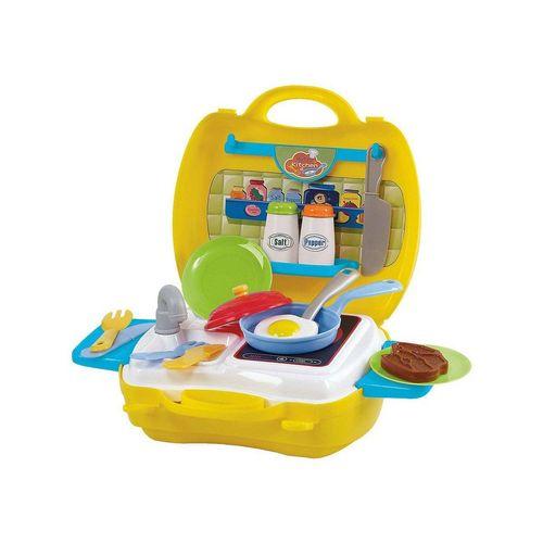 Playgo Spielküche »Spielküche zum Mitnehmen, 22 Teile«