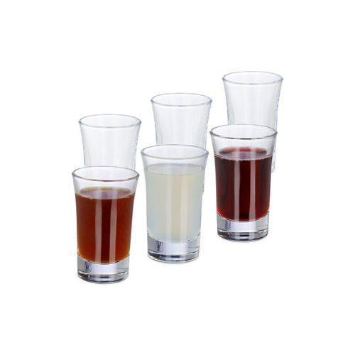relaxdays Schnapsglas »Schnapsgläser 4cl im 6er Set
