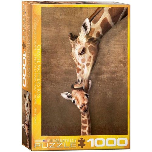 empireposter Puzzle »Giraffe mit Baby