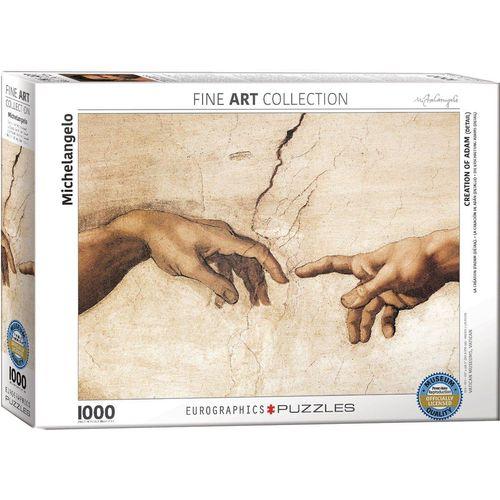 empireposter Puzzle »Michelangelo - Die Erschaffung Adams - 1000 Teile Puzzle Format 68x48 cm«, 1000 Puzzleteile